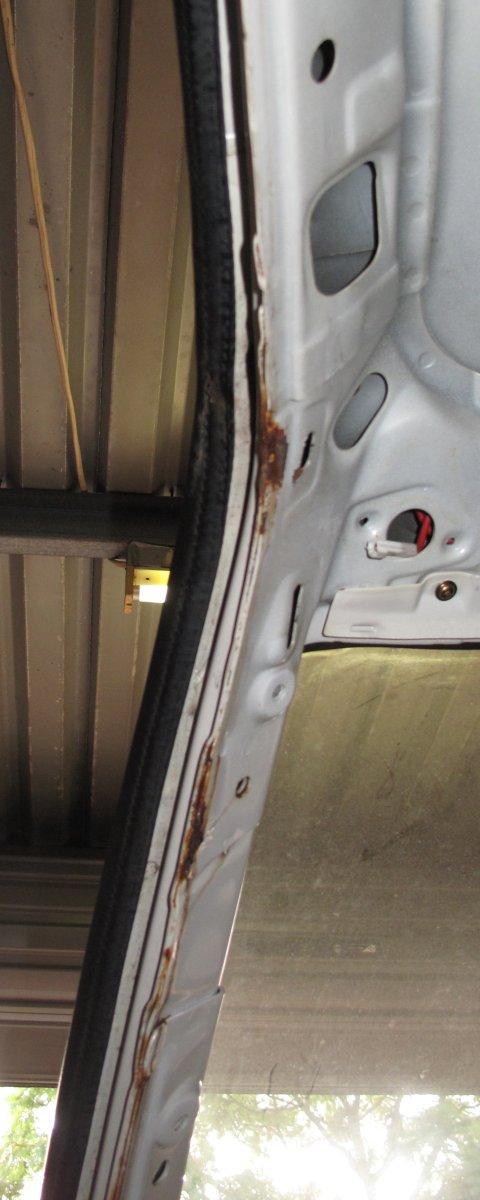 MZ12 Passenger Side Door Inside