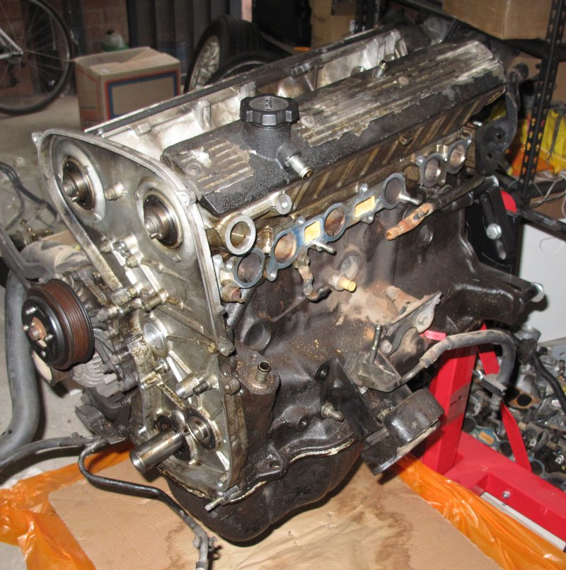 Engine pre head removal